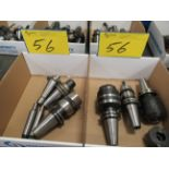 ASST. CAT 40 TOOL HOLDERS (2 BOXES)