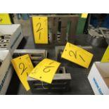 """LOT 4 ASST. 1-12""""X9""""X8"""", 1-8""""X4""""X6"""", 2-6.5""""X4""""X5"""" ANGLE PLATES"""