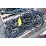 LOT OF (2) WELDING CABLES