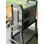 HYPERTHERM POWERMAX 1000, G3 SERIES, PLASMA CUTTER, S/N1000-031278 W/CABLES/CART