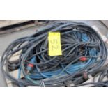 LOT OF (3) WELDING CABLES