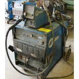 MILLER DELTAWELD 302 CV-DC WELDING POWER SOURCE W/MILLER 70 SERIES 24V WIRE FEED, S/N LK022382C W/