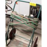 DUAL TANK/TORCH CART W/GAS CABLES/TORCH/REGULATOR