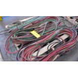 LOT OF (3) WELDING GAS HOSES