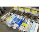 LOT OF WELDING PICKS, BRUCHES, ELECTRODES
