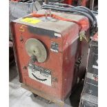 LINCOLN ELECTRIC IDEAL ARC 250 WELDER ON CART W/POWER CABLE, S/N 147048