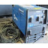 MILLER BOBCAT, 250 EFI, AC/DC WELDER, 12000 VOLT GENERATOR, GAS POWERED, S/N MF110848R W/CABLES