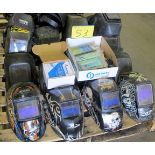 QUANTITY OF WELDING MASKS AND REPLACEMENT LENS