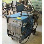 MILLER DELTAWELD 302 CV-DC WELDING POWER SOURCE W/MILLER 70 SERIES 24V WIRE FEED, S/N MA020526C W/