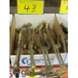 LOT OF (4) WELDING TORCHES
