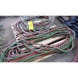 LOT OF (2) WELDING GAS HOSES