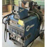 MILLER DELTAWELD 302 CV-DC WELDING POWER SOURCE W/MILLER 70 SERIES 24V WIRE FEED, S/N MC060265U W/