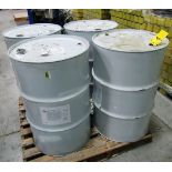 (4) 45 GALLON DRUMS OF VORAFORCE AD3005 STRUCTURAL ADHESIVE