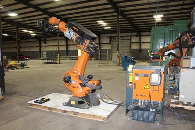 Lot 53 - 2014 KUKA KR90 R2700 PRO 6 AXIS INDUSTRIAL ROBOT, KRCH CONTRL (LOCATION 1: 1308 LE GILLILAND DR,