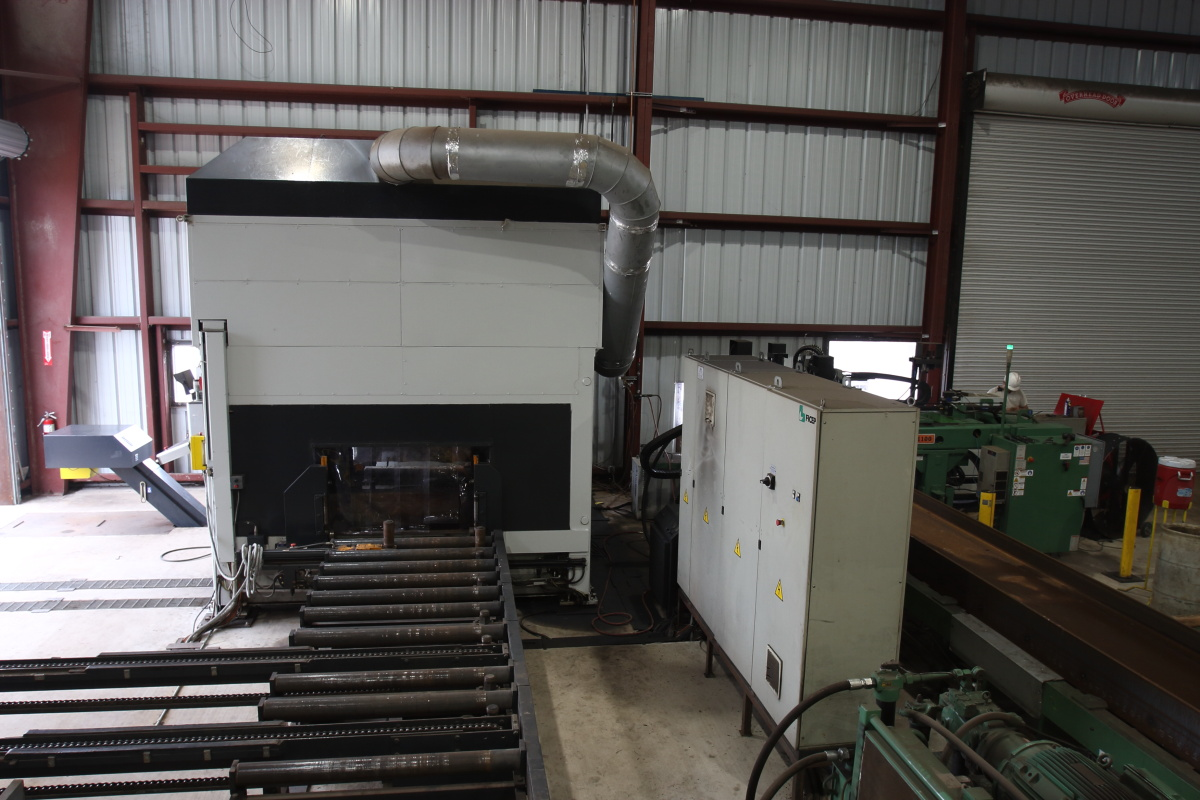 FICEP 1102DZTT CNC AUTOMATIC DRILLING & THERMAL COPING LINE ONLINE AUCTION