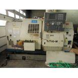 Okuma LT10 CNC Turning Center, s/n 0186, OSP U100L CNC Control, Twin Spindle, Twin Turret, Live