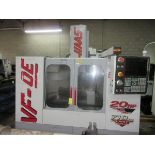 """1999 Haas VF-OE CNC Vertical Machining Center, s/n 17160, 14x36"""" Table, Updated Haas Control, Haas"""