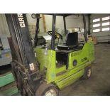 """Clark Forklift GCS30I LPG Forklift, s/n G138I-0148-7206KOF, 5325# @ 188"""", Reads 8295 Hrs. (LATE"""