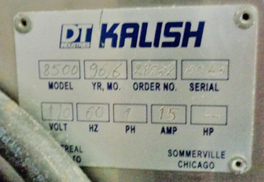 Lot 95 - Kalish Small Volume Pharmaceutical Packaging Line