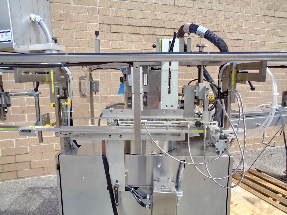 Lot 86 - MGS Outserter Model Sidewinder, S/N 10888, 3/60/460V, with PIAB Vacuum Pump in base