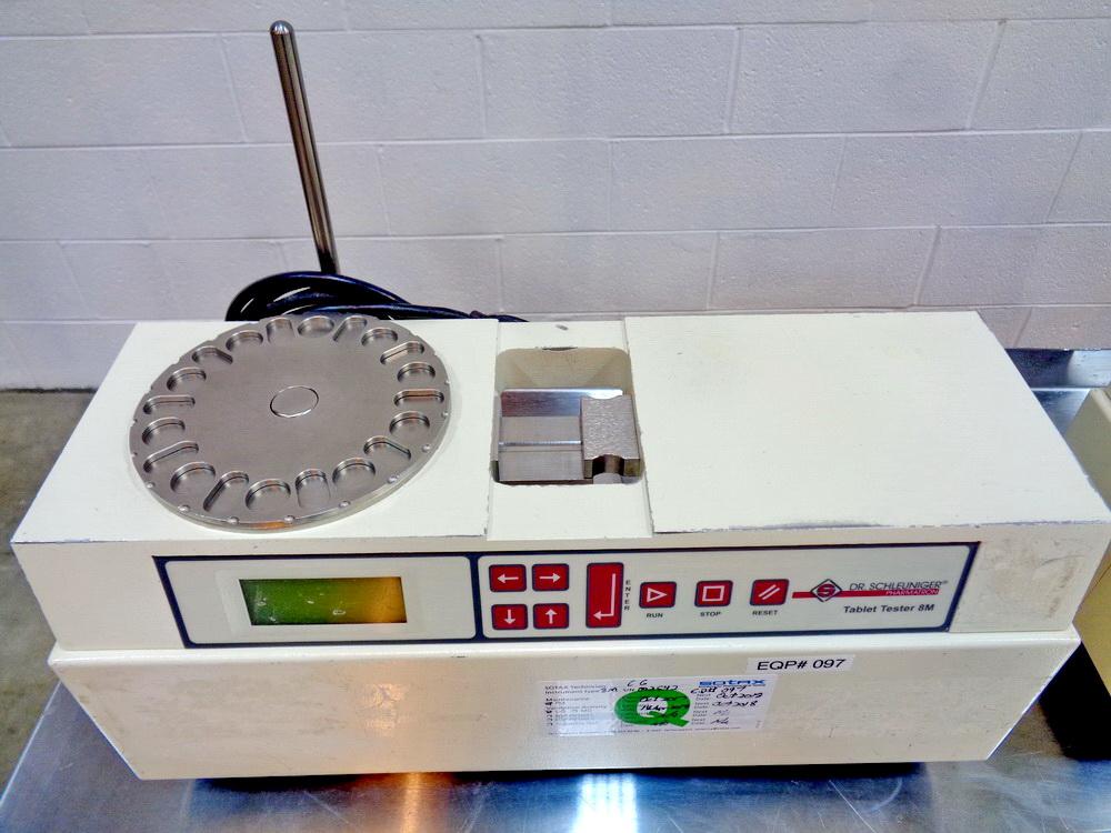 Lot 51 - Dr. Schleuniger Tablet Hardness Tester, Model 8M