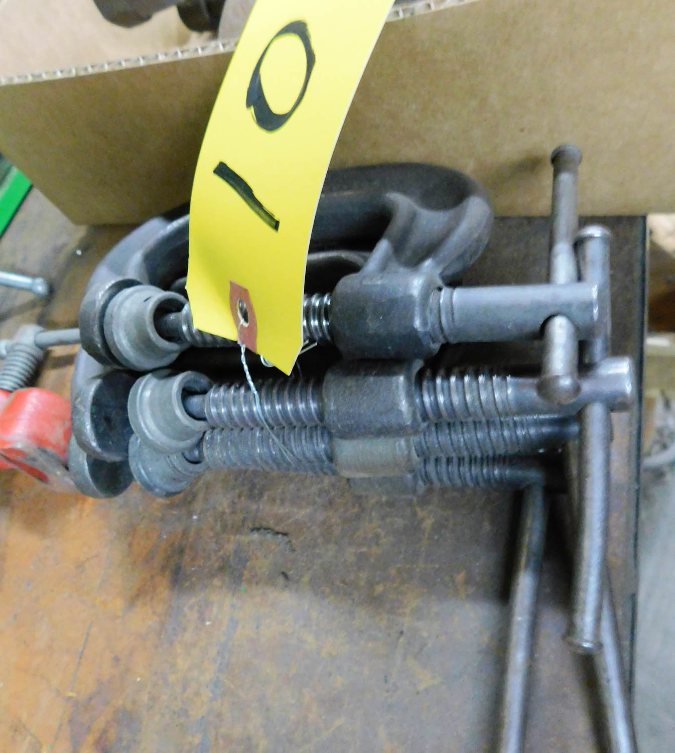 Lot 10 - C-CLAMPS
