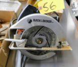 Lot 56 - BLACK & DECKER 2-1/8HP CIRCULAR SAW