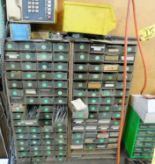 Lot 15 - [2] PARTS BIN CABINETS, WITH TAPS