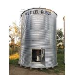 Bin A1 2400bu Westeel Rosco 7-Ring. 14ft Grain Bin