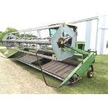 1980 2420 21ft JD Diesel Swather