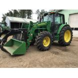 2007 6430 John Deere MFWD Tractor