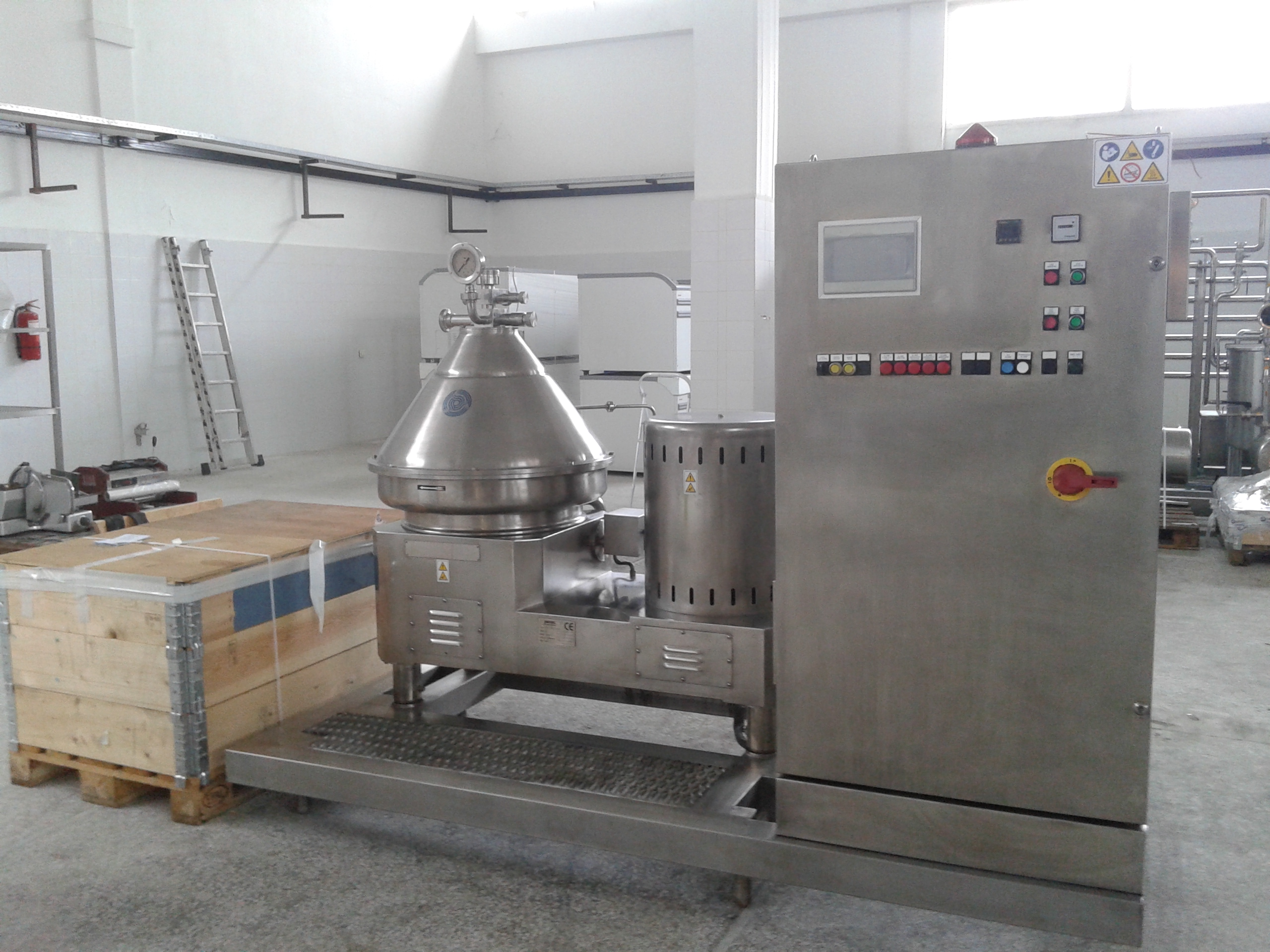 Lot 4 - 2006 Andritz Frautech Seperator, Model CA71T, 8000-10.000 LT/Hr Capacity, Self Cleaning, Recently R