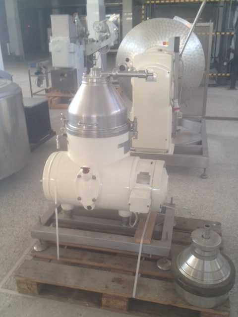 Lot 2 - Westfalia Separator, 1000-1500 L, Recently Refurbished, Very Good Condition