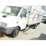 English: IVECO 1753 Ice Cream Delivery Truck, Freezer, 4+4 Doors, 405286KM Greek: Φορτηγό ψυγείο