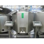 English: Mixing/Cooling Tank for Ice Cream 550L with Agitator, Type LAISA, Can be Connected to