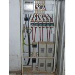 English: Electrical Control Panel 70x50x202 cm Greek: Ηλεκτρολογικός πίνακας συνιμήτονου 70Χ50Χ202