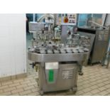 English: MARK, FILMARK 3000 Cup Filling Machine for Ice Cream 3000 Cups/Hour, 18 Cup Holders 80mm