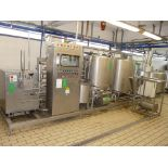English: TETRA PAK HOYER HTST SYSTEM, 1200 Pasteurizer for Ice Cream, Contains 2 x Tanks with
