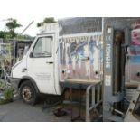 English: IVECO 1753 Ice Cream Delivery Truck, Freezer, 4+4 Doors Greek: Φορτηγό ψυγείο κατάψυξη,
