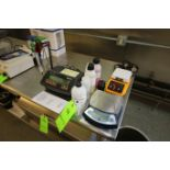 Hanna PH Bench Meter, M/N Hi2210, with Solutions, Thermo Scientific Hot Plate, M/N SP1310, S/N