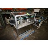 Hoppmann Bottle Placement Unit, S/N PC0027APLCOI, with Drive, Mounted on S/S Frame (LOCATED IN FT.