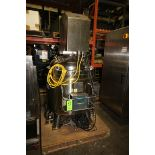 Albino Aprox. 170 Gal. 316L S/S Jacketed Vessel, S/N 4301, Interior Epoxy Coated, with Dual Prop