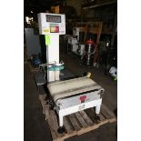 """Hi-Speed Micromate Check Weigher, M/N CS80MM-CS, S/N 10901, with Aprox. 29"""" L x 16"""" W Conveyor ("""