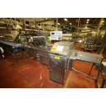 """FMC S/S Flow Wrapper, M/N Series II, with Loading Chain and 26"""" L Roll Bars (LOCATED IN FT. WORTH,"""
