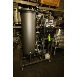 """Single Tank CIP System, with Aprox. 40 Gal. S/S Single Wall Tank, Tank Dims.: 50"""" H x 16"""" Dia., with"""
