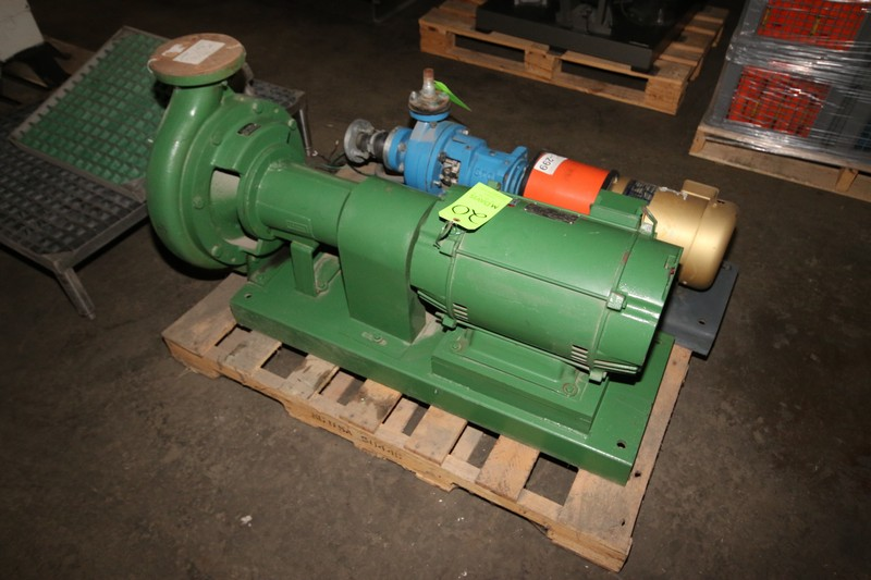 Lot 20 - Beming 20/50 hp Pump, Type AI 10-1/4, S/N DC-931713, 1770/1456 RPM, 208-230/460 Volts (LOCATED IN