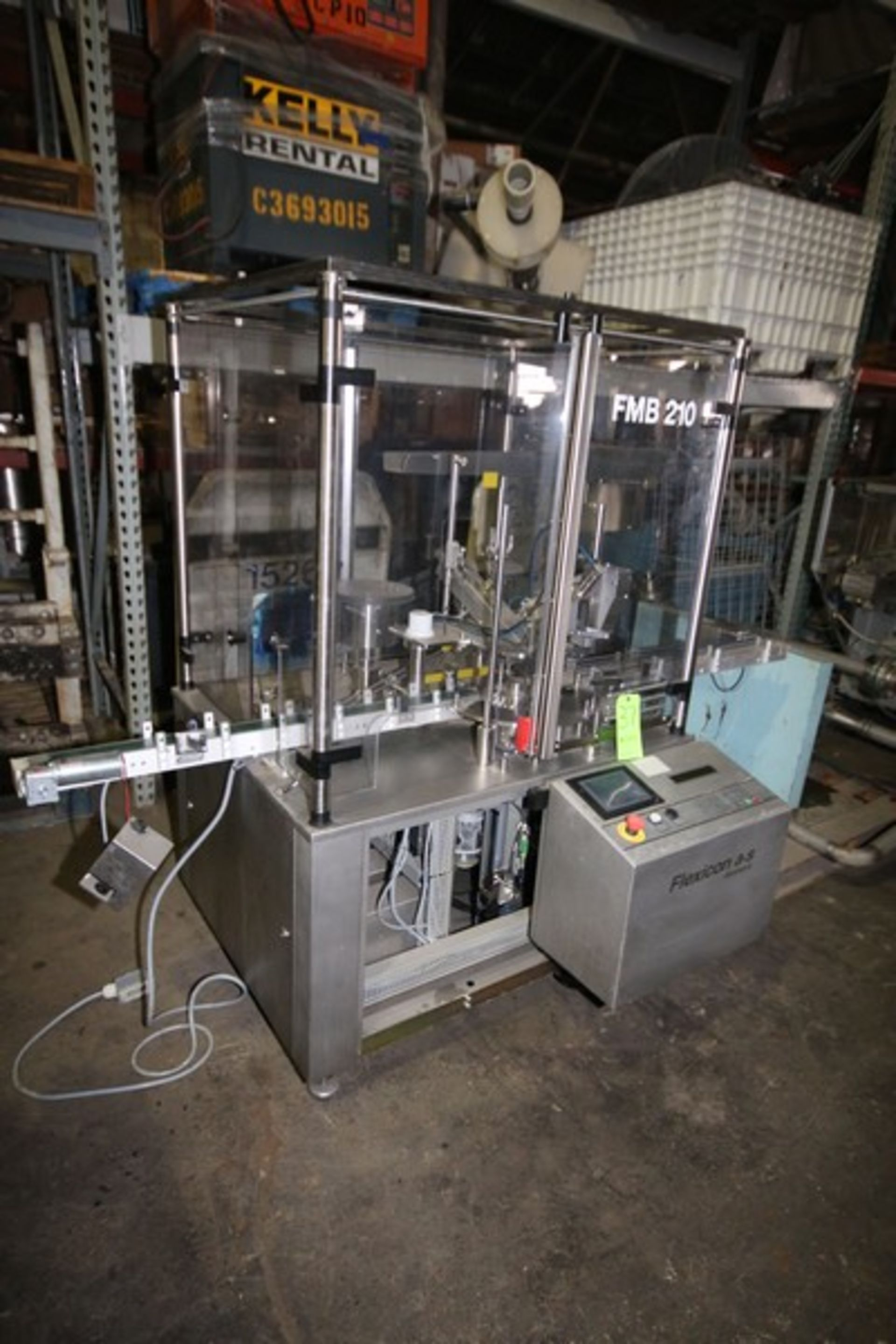 Lot 37 - Flexicon Monobloc Vial Filling and Capping Machine, M/N FMB210, S/N 09309799, 230 Volts, with VFD