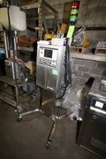 Lot 22 - VideoJet IPRO Ink Jet Coder, S/N 023020024WD, 100 PSI, with Ink Head with Digital Display & Key