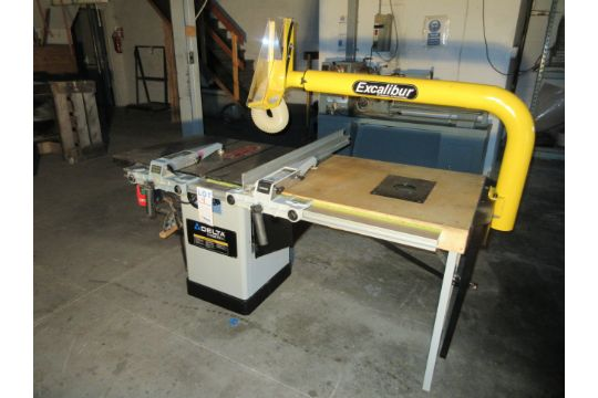Delta table saw model 36 71 with excalibur arm 1 34 hp 120240 previous keyboard keysfo Image collections