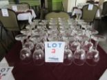 Lot 2 - LOT INCLUDING: 32 WINE GLASSES